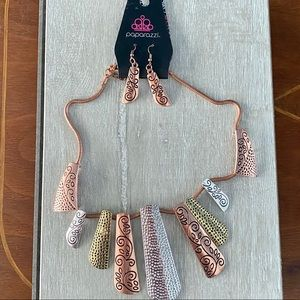 Paparazzi Earring and Necklace Set New
